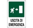 CARTELLO ALL. USCITA DI EMERGENZA 0320.06.00 D&B VERONA