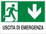 CARTELLO ALL. USCITA DI EMERGENZA E002IT78 D&B VERONA