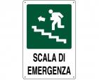 CARTELLO ALL. SCALA DI EMERGENZA 0320.33.20 D&B VERONA