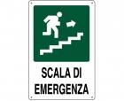 CARTELLO ALL. SCALA DI EMERGENZA 0320.33.30 D&B VERONA