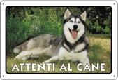 CARTELLO ALL. ATTENTI AL CANE 0791.00.60 D&B