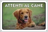 CARTELLO ALL. ATTENTI AL CANE 0791.01.30 D&B