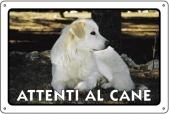 CARTELLI ALL. ATTENTI AL CANE 0791.01.60 D&B