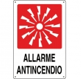 CARTELLO ALL. ALLARME ANTINCENDIO 0240.48.00 D&B
