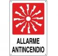 CARTELLO ALL. ALLARME ANTINCENDIO 0240.48.00 D&B