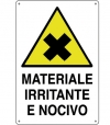 CARTELLO ALL. MATERIALE IRRITANTE E NOCIVO 0020.21.30 D&B