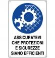 CARTELLO ALL. PROTEZIONI EFFICENTO 0180.15.10 D&B