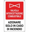 CARTELLO ALL. VALVOLA COMBUSTIBILE 240.25.00 D&B
