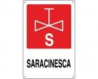 CARTELLO ALL. ANTINCENDIO SARACINESCA 0240.28.00 D&B