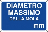 CARTELLO ALL. DIAMETRO MASSIMO MOLLA MM 0410.32.80 D&B