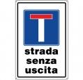 CARTELLO ALL. STRADA SENZA USCITA 0540.29.00 D&B