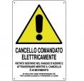 CARTELLO ALL. CANCELLO ELETTRICO 0020.04.00 D&B