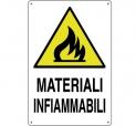 CARTELLO ALL. MATERIALI INFIAMMABILI 0020.24.20 D&B