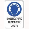 CARTELLO ALL. OBBLIGO PROTEZIONE UDITO 0180.05.00 D&B