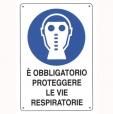 CARTELLO ALL. PROTEZIONE VIE RESPIRATORIE 0180.09.00 D&B