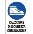 CARTELLO ALL. OBBLIGO SCARPE DI SICUREZZA 0180.52.00 D&B
