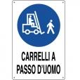 CARTELLO ALL. CARRELLI A PASSO D' UOMO 0180.64.00 D&B
