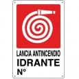 CARTELLO ALL. LANCIA ANTINCENDIO 0240.10.10 D&B