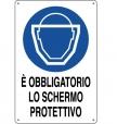 CARTELLO ALL. OBBLIGO SCHERMO PROTETTIVO 0180.61.00 D&B