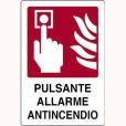 CARTELLO ALL. PULSANTE ALLARME ANTINCENDIO 240.46.00 D&B