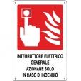 CARTELLO ALL. INTERRUTTORE ANTINCENDIO 0240.46.10 D&B