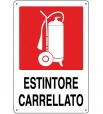 CARTELLO ALL. ESTINTORE CARRELLATO 0240.07.00 D&B