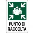CARTELLO ALL. PUNTO DI RACCOLTA 0320.66.00 D&B