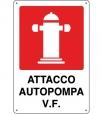 CARTELLO ALL. ATTACCO AUTOPOMPA V.F.  0240.58.00 D&B
