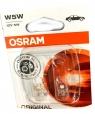 2 LAMPADINE 12V 5W W5W OSRAM 100655