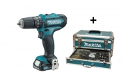 TRAPANO MAKITA 10,8V CON 59 ACCESSORI HP331DSAX2