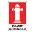 CARTELLO ALL. IDRANTE SOTTOSUOLO V0262B ZIGIOTTO