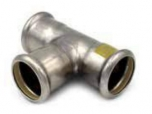 TEE INOX-PRESS GAS 182G RACCORDERIE METALLICHE