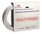 CONFEZIONE 50 MT TUBO MULTYRAMA ALLUMINIO 0,2mm PRANDELLI
