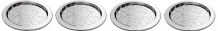 SET 4 SOTTOBICCHIERI INOX DRESSED MW05/12S4 ALESSI