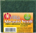 TRIS ABRASIVI VERDI ABRO0031A BRIANCASA