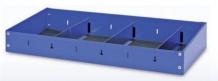 SCAFFALE TERMINALE CON DIVISORI P360 TECNOLAM