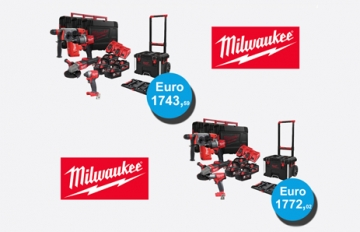 Scopri i nuovi Kit Promozionali Milwuakee