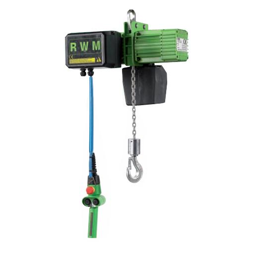 Paranco elettrico modello f rwm for Paranco elettrico 1000 kg