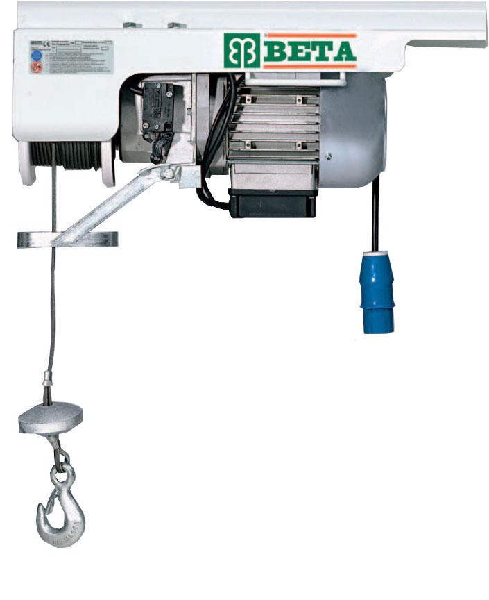 Paranco elettrico beta pannelli termoisolanti for Paranco elettrico usato