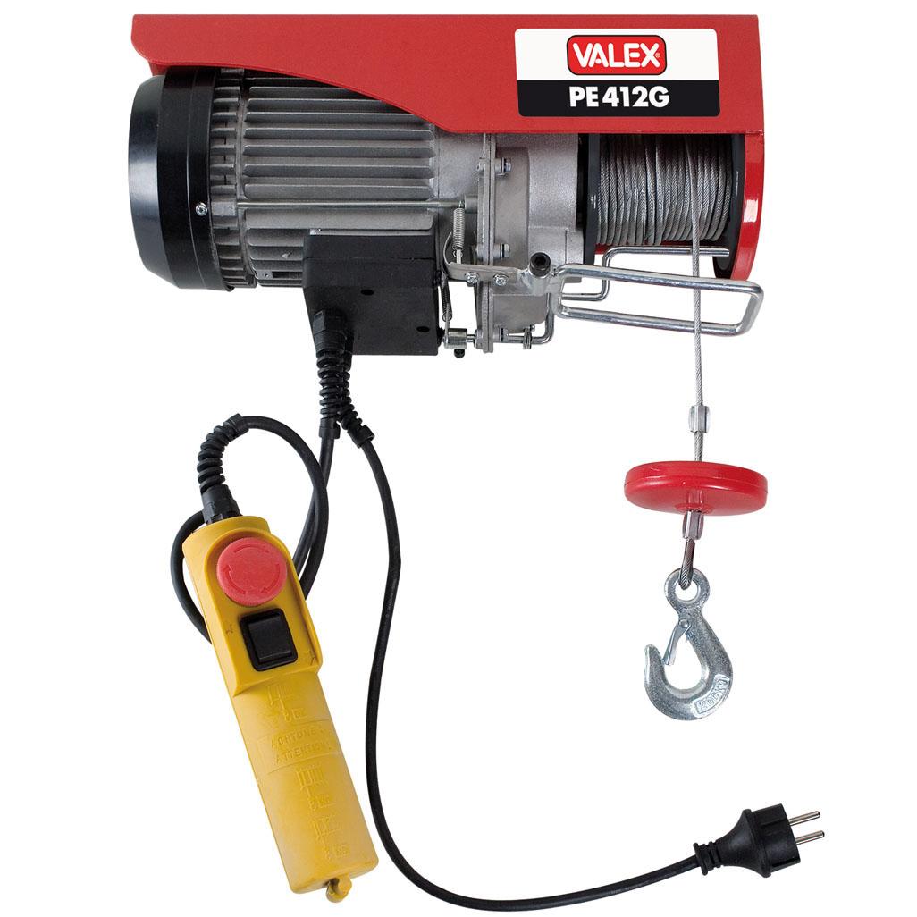 Paranco elettrico valex pe412g 1655157 for Paranco elettrico 1000 kg
