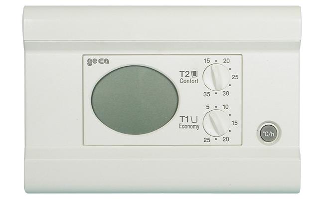geca termostato condizionatore manuale istruzioni