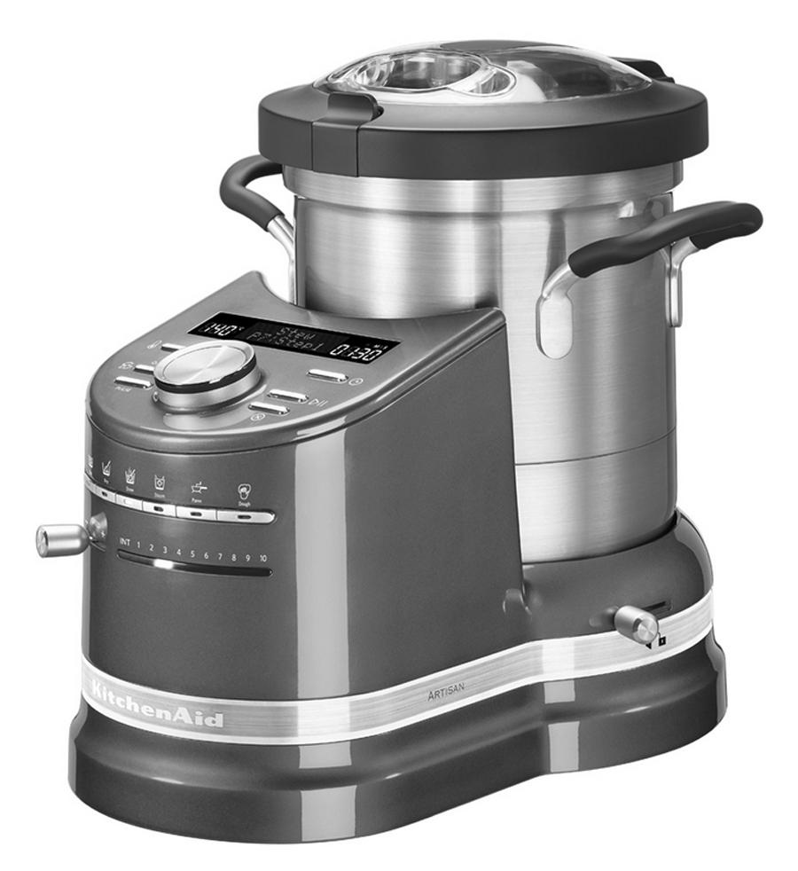 Robot cook processor ikcf0103 argento medaglia kitchenaid for Pentole kitchenaid